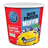 Stud Bites | High-Protein Muffin | 25g Protein, 7g Net Carbs (Blueberry, 12-Pack)