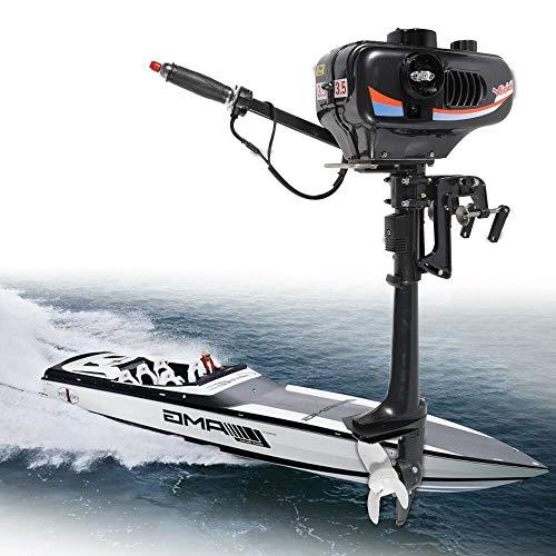 Why Should You Buy DONSU 3.5HP 2-Stroke Heavy Duty Tiller Outboard Motor Short Shaft Inflatable Boat...