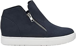 CUSHIONAIRE Women's Hart Hidden Wedge Sneaker +Wide Width Available