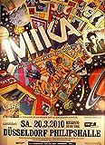 Milka - Düsseldorf 2010 Konzert-Poster A1