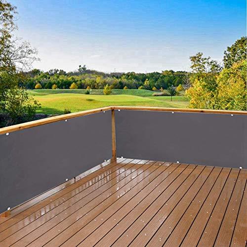 AZLAO Tela Toldo Balcón 90x600cm Privacidad de Balcón y Pantallas Balcon Privacidad...