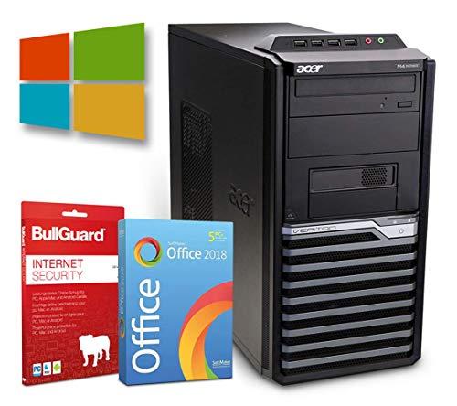 Office Tower PC   Intel Core i5-650@ 3,2GHz   4GB   250GB HDD   DVD-Brenner   Radeon HD 4650 Grafikkarte  Windows 10 Pro   BullGuard   SoftMaker Office (Generalüberholt)