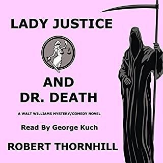 Lady Justice and Dr. Death audiobook cover art