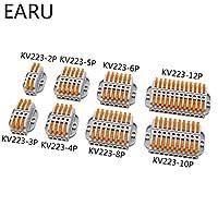 MYERZI 中継接続用 PINユニバーサルドッキング高速配線導電体プッシュインタータターンブロック (Color : PCT 22 2, Package : 1 PIECE)