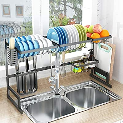Over Sink Dish Drying Rack from