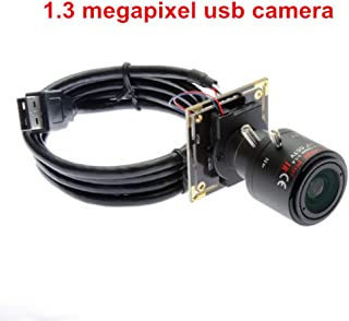 "2.8-12mm Varifocal Lens USB Camera 1.3MP Low Illumination Web Cam with 1/3"" AR0331 Image Sensor HD 960P 1280X960 USB with Camera,USB2.0 Web Camera,Plug&Play,Webcam with UVC for Android Linux Windows"