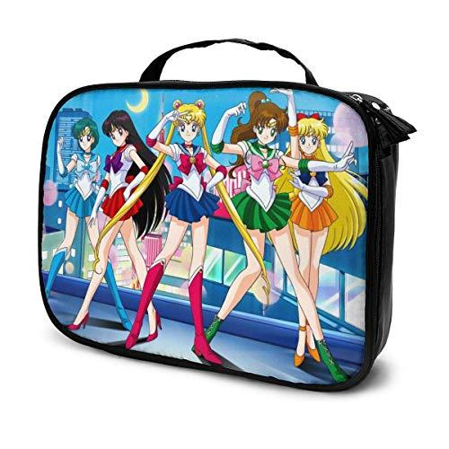 Sailor Moon Kosmetiktasche Multi Fächer Große Kapazität Taschen Make-up Handtasche