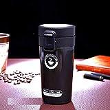 Lista 300 ML Double Wall Vacuum Insulated Travel Stainless Steel Coffee/Tea Mug, Flask