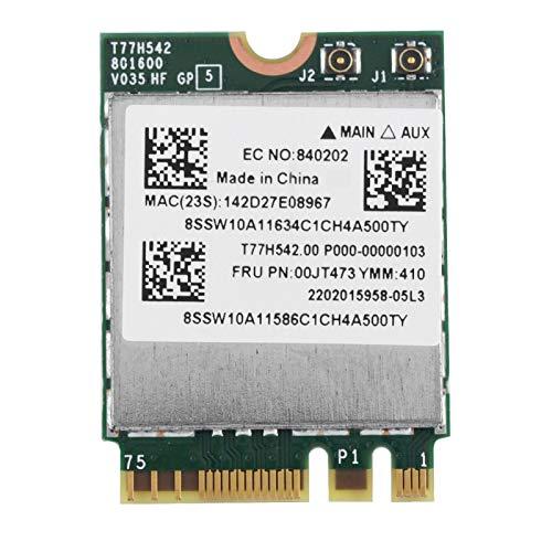 NGFF 2.4G / 5G Dual Band Mejor Rendimiento Mayor confiabilidad Tarjeta WiFi Mini Tarjeta de Red para computadora portátil para computadora