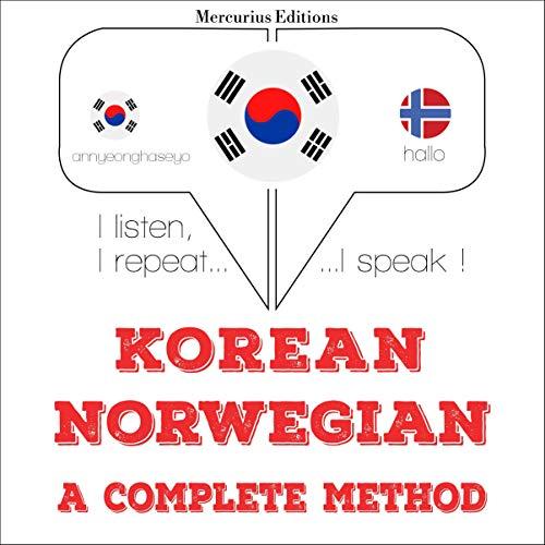 Korean – Norwegian. A complete method cover art