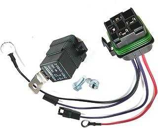 Kit de relé de arranque WonVon para Jo-hn D-eere - AM107421 - AM106304 con conector hermético al agua