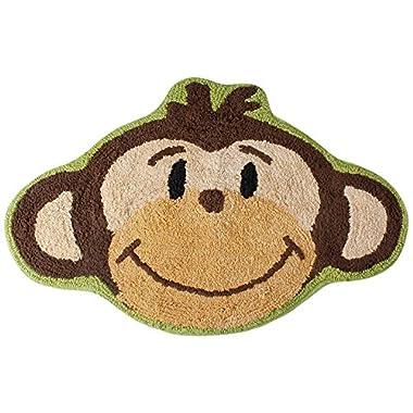 Saturday Knight Monkey Town Bath Rug