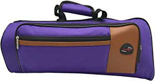 Xinlinke Trumpet Gig Bag 15mm Padded Soft Case Purple