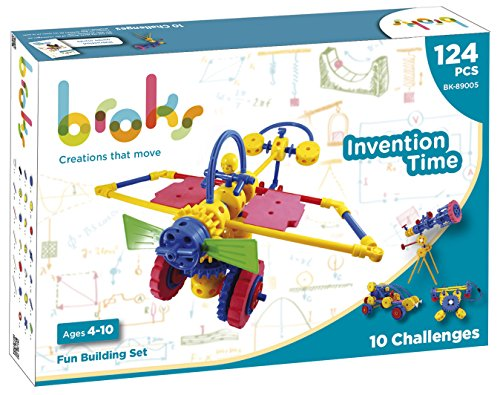 BROKS Invention Time - Juego de construcción STEM con 124...