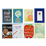 Hallmark Teacher Appreciation Card Assortment for Day Care, Preschool, Elementary School, Graduation or Back to School (8 Cards with Envelopes)