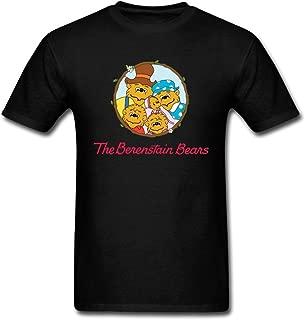 Kingdiny Men's Berenstain Bears Logo T Shirt