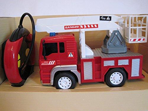 RC Auto kaufen Feuerwehr Bild 4: RC Feuerwehrauto ferngesteuertes Spielzeug Feuerwehr Auto Ferngesteuert NEU (Feuerwehrauto mit Hubleiter)*