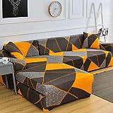 Funda de sofá de Envoltura Ajustada geométrica Funda de sofá elástica Necesita Pedir Funda de...