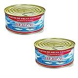 Melva Canutera en aceite de oliva - Lata de 1000 gr - Herpac. Salazones, ahumados y conservas (Pack de 2 latas)