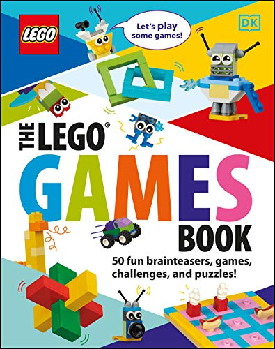 The LEGO Games Book (Library Edition): 50 Fun Brainteasers, Games, Challenges, and Puzzles!