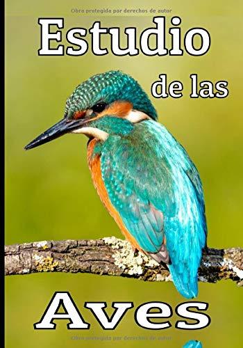 Estudio de las aves: El cuaderno del ornitólogo aficionado, para estudiar, listar y registrar todos los datos de sus observaciones. Regalo para los amantes de los pájaros