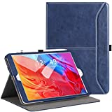 Ztotops Hülle für Neu iPad 10,2 (8. Generation/7. Generation), Premium Leder Geschäftshülle mit Ständer,Kartensteckplatz, Auto Schlaf/Aufwach Funktion für iPad 10,2
