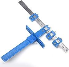 Juego de guía de taladro, herramienta de perforación de aleación desmontable, guía de taladro para armario, herramienta de mano para manijas en puertas o cajones.