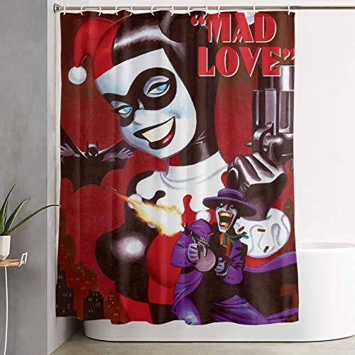 51sxd+ILdIL Harley Quinn Shower Curtains