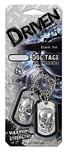 HandStands DRIV76107Z Driven Dog Tags Colgante Ambientador, Cada Etiqueta de Perro 5 x 3 cm