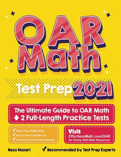 OAR Math Test Prep: The Ultimate Guide to OAR Math + 2 Full-Length Practice Tests