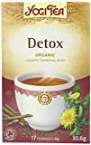 Yogi Tea De-tox 17 Teabags (Pack of 6, Total 102 Teabags)