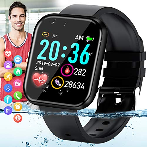 Peakfun Smart Watch,Fitness Watch Activity Tracker with Heart Rate Blood Pressure Monitor...
