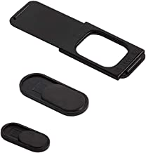 C-SLIDE Security Pack Webcam Covers, Includes 1.0, 3.0 and 4.0 Models, Black, Durable Plastic, No Scratch Design, Fits Computers, Laptops, Macs, Chromebooks, Video Game Consoles, More