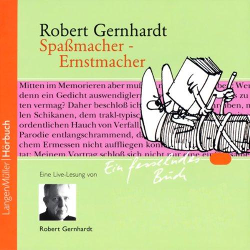 Spaßmacher - Ernstmacher audiobook cover art