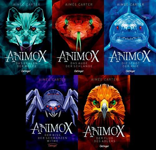 Animox Band 1 - 5 - Aimée Carter + 1 exklusives Postkartenset