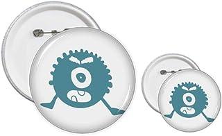 Kit de création de boutons et badges Alien Monster Creature Cyclope