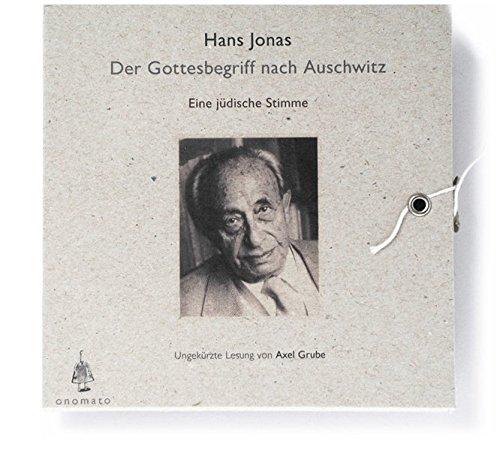 Hans Jonas, Der Gottesbegriff nach Auschwitz, 1 Audio-CD in handgefertigter Schmuckbox, Voltextlesung (Bibliophile Hörbuch-Edition / Hörbücher in handgefertigten Schmuckschachteln)