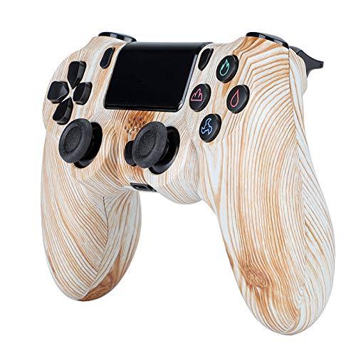 HUDB Wireless Controller Für PS4, Wireless Controller Für PS4/PS4 Slim/PS4 Pro, Doppelter Vibration, Audiofunktion Anti-Rutsch Griff Und Bluetooth Gamepad,S4