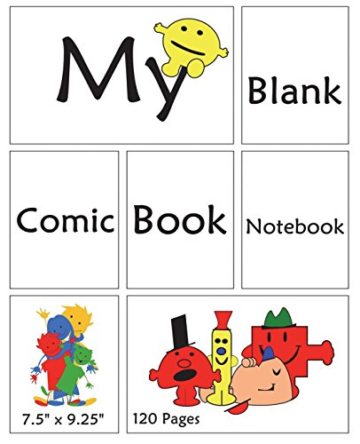 My Blank Comic Book Notebook. 7.5
