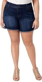 Style&Co Plus Size Raw-Hem Shorts