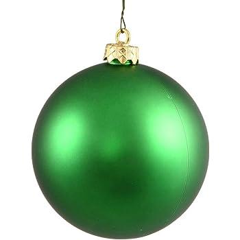 N590671DMV Vickerman 625248-2.4 Coral Matte Ball Christmas Tree Ornament 24 pack