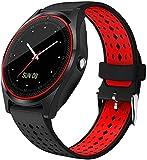 Reloj inteligente inalámbrico Cámara Fitness Tracker Smartwatch para dispositivos Android usables - Talla una_rojo-Talla una_verde-Talla una_verde