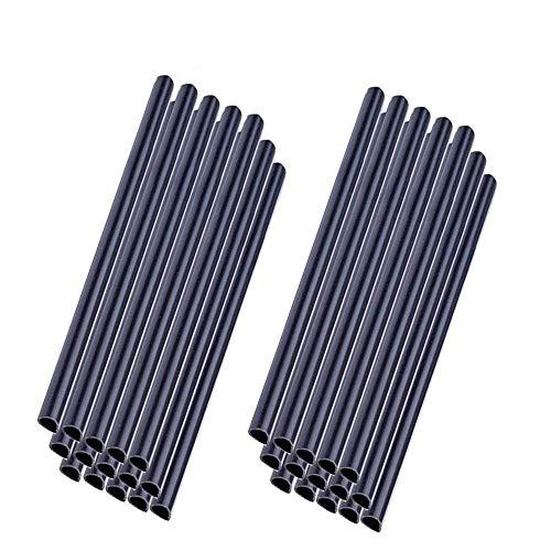 HENGMEI 30 Stück PVC sichtschutzstreifen anthrazit befestigungsclips Sichtschutz Klemmstreifen (30 Stück,Anthrazit)