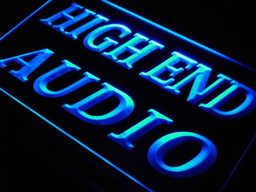 ADVPRO Insegna al Neon j689-b High End Audio Hi Fi Theater Shop New Light Sign