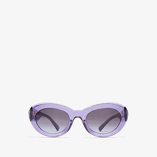 Transparent Violet/Grey Gradient