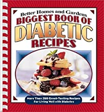 Biggest Book of Diabetic Recipes: More Than 350 Great-Tasting Recipes for Living Well with Diabetes [BIGGEST BK OF DIABETIC REC -OS]