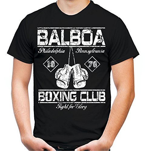 Balboa Boxing Club T-Shirt   Männer   Herren   Vollkontakt   Boxen   Boxing   MMA   Fight   Sport   Stallone   Film   Kult   M2 (XL)