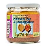 Crema de almendras tostadas Monki 330 g