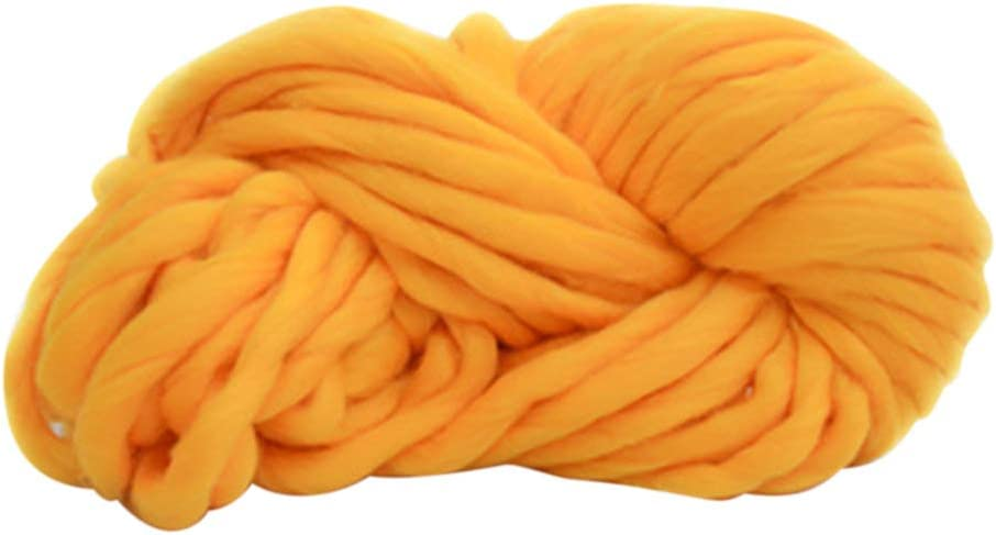 250g Fashion Super Bulky DIY Hand Knitting Blanket Hats Warm Giant Thick Yarn 1# Ameesi