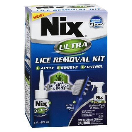 Nix Ultra Lice Removal Kit - 3PC